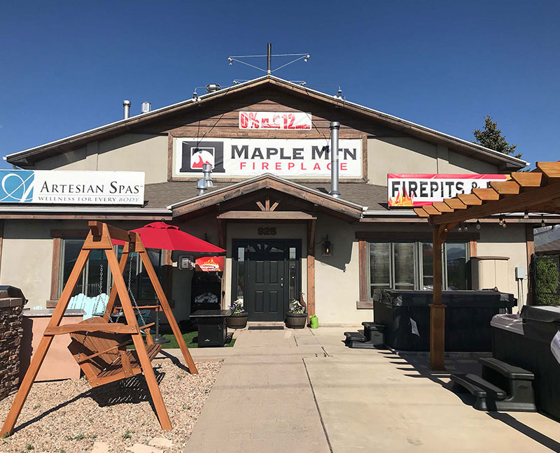 Maple Mountain Fireplaces Building or Showroom