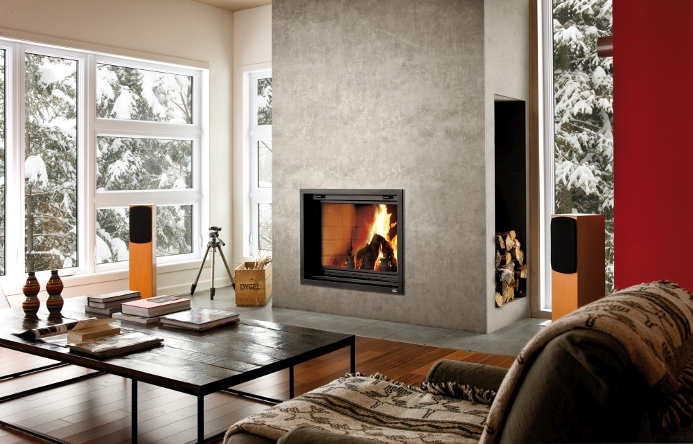 What's the capacity of my wood burning appliance for heating my home?