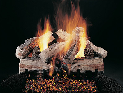 Vented log sets from Evening series by Rasmussen