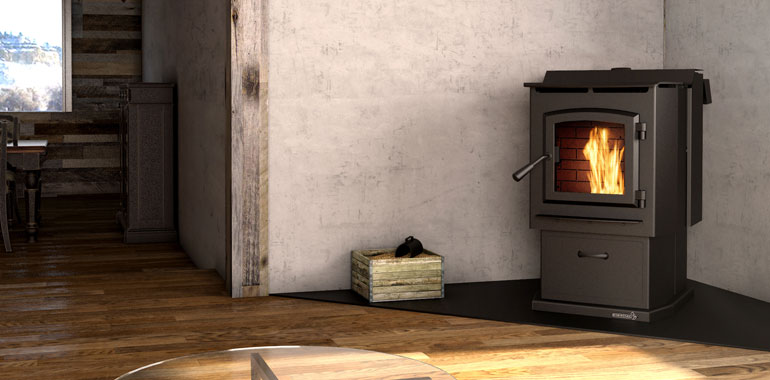Perhaps You Dont Want To Be Without A Good Wood Fire But Handling Logs Puts Off In This Case Should Opt For Pellet Stove