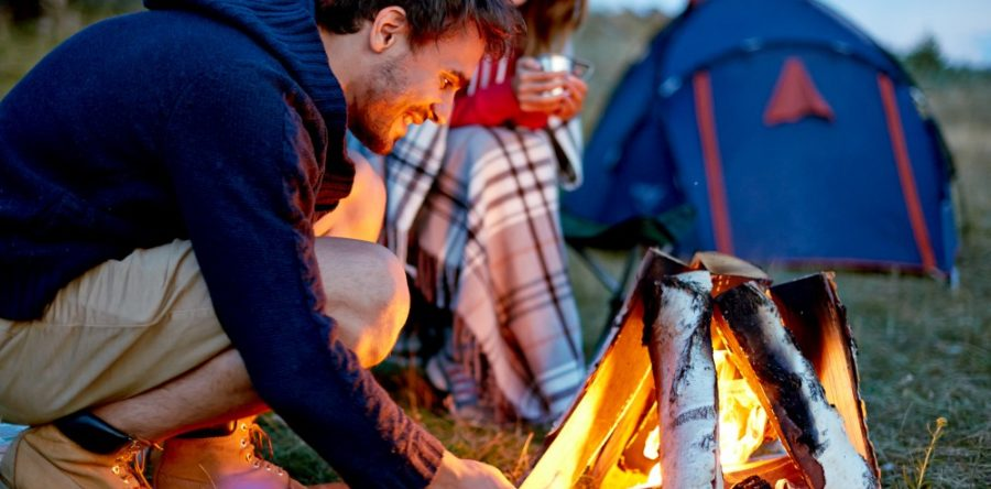A few tips for a good camp fire