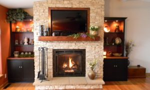 A Chimney Specialists Fireplace Makeover