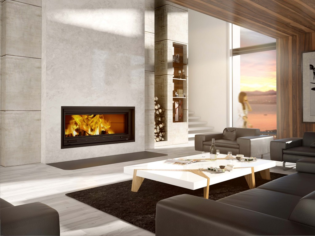 FP 16 St-Laurent, a decorative wood-burning fireplace