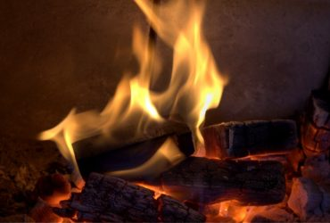 How a Gas Fireplace is Converted to a Wood Burning Unit