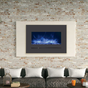 Could an electric fireplace or stove be a good option for you ?