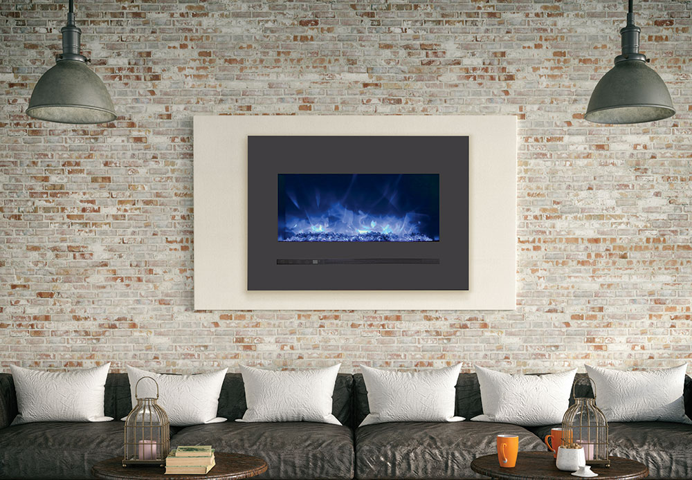 Electric fireplace, WM FML-26 serie, by Amantii