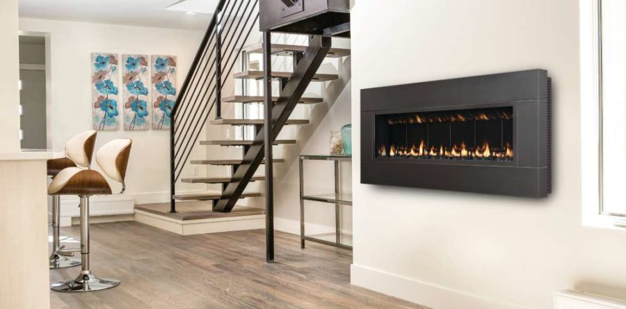 How should I maintain my new gas burning stove or gas fireplace?