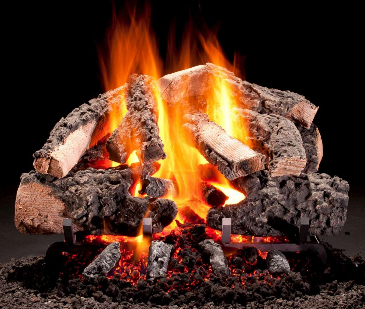 Hargrove Premium Products Woodland Timbers Cropped gas logs – We Love Fire