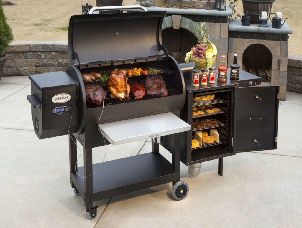 Louisiana Grills Wood Pellet Grill patio – We Love Fire