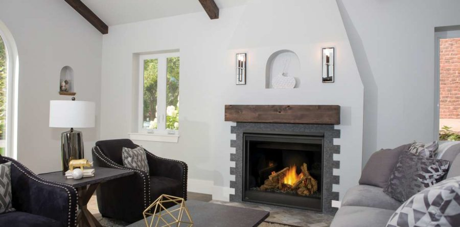 What's the difference between radiant and convective heat from my fireplace?