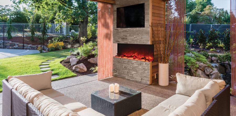 Outdoor fireplaces to enjoy your summer