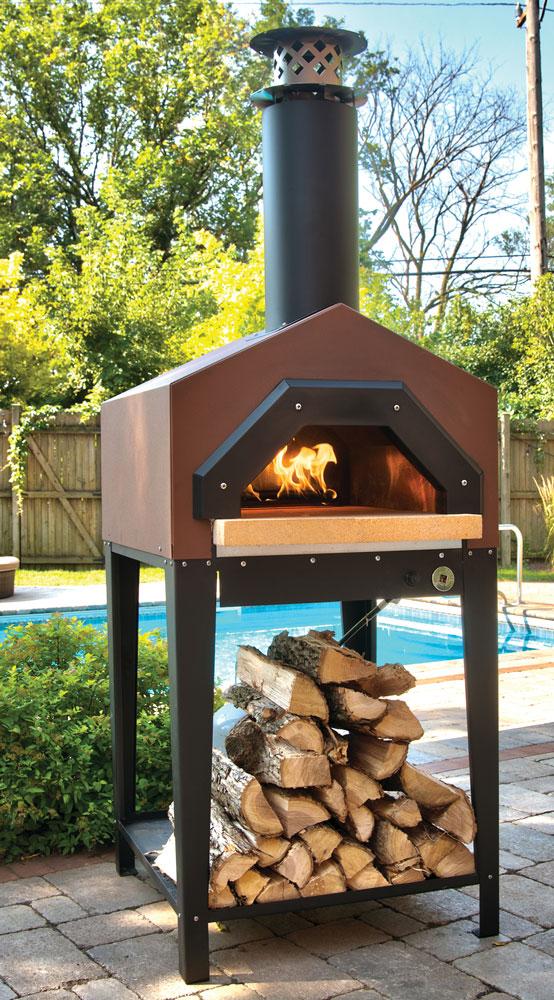 Chicago Brick Oven wood-burning oven with no Door