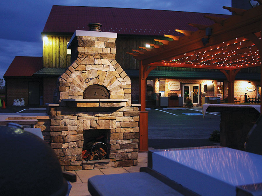 Chicago Brick Oven Cloister Cabinetry Ephrata