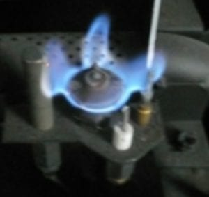 Pilot Light with Thermocouple and Thermopile