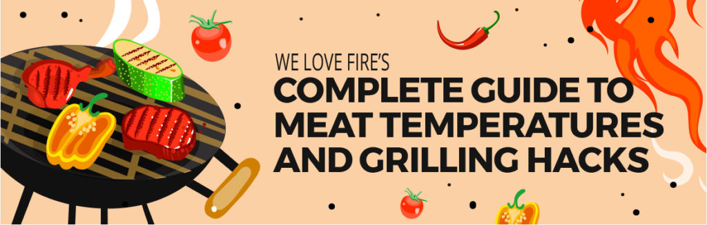We Love Fire's Complete Guide to Meat Temperatures and Grilling Hacks
