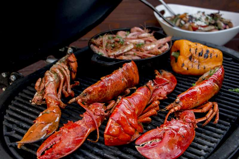 Seafood and Vegetables