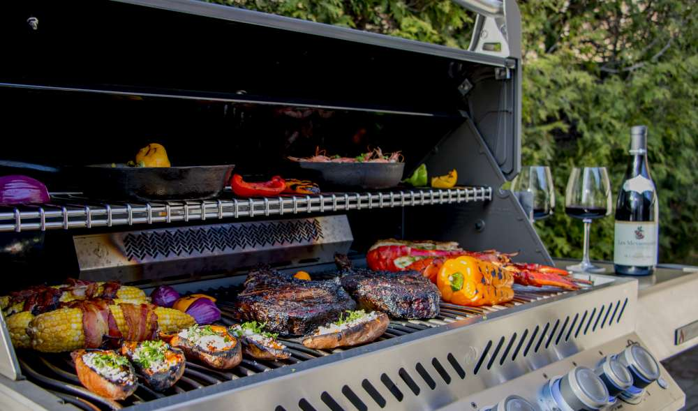Napoleon Gas Grill - We Love Fireplaces and Grills