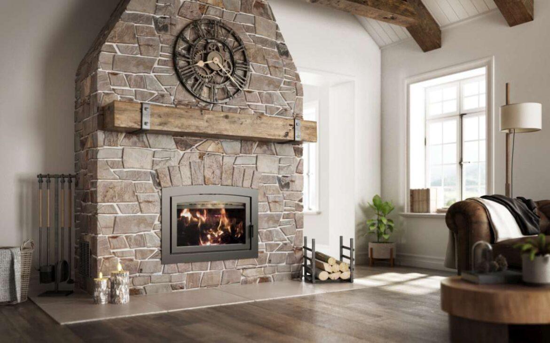 Ambiance Elegance Wood Fireplace