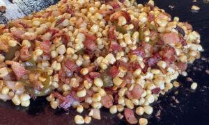 Chef Paul Sidoriak's Spicy-Sweet Street Corn Griddle