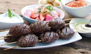 Chef Rob Rainford's Egyptian Lamb Koftas