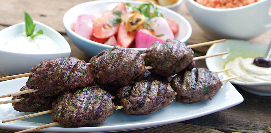 Chef Rob Rainford's Egyptian Lamb Koftas