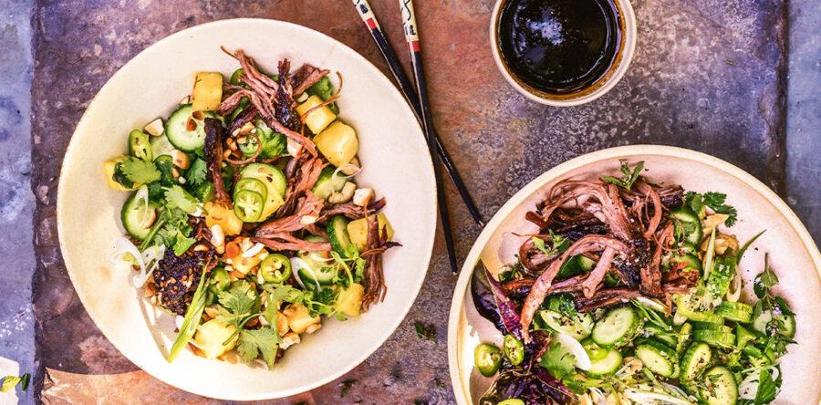 Steven Raichlen's Vietnamese Crispy Brisket Salad