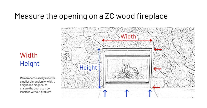 Measuring ZC wood opening