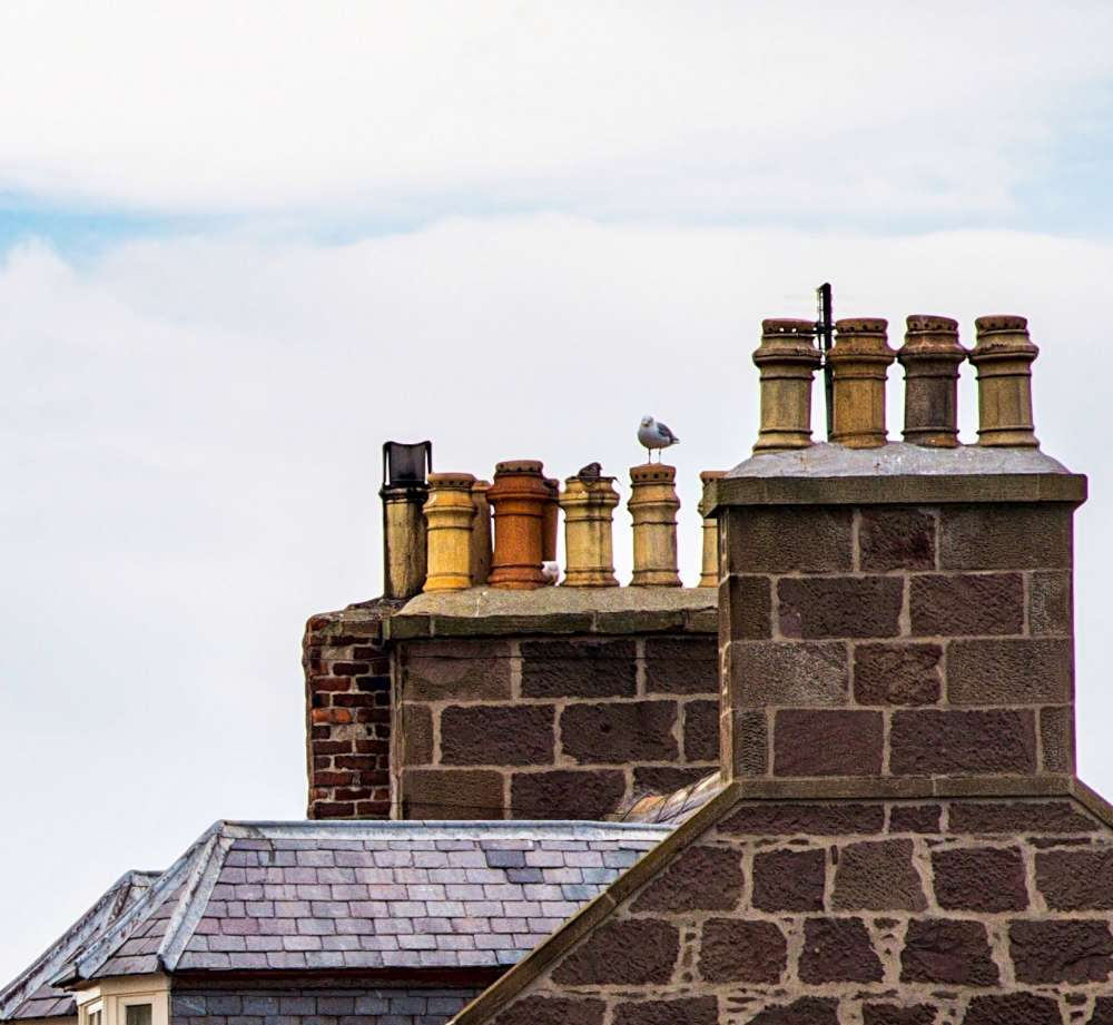 Clay and brick old chimney Can my flue be angled? Can my chimney be angled?