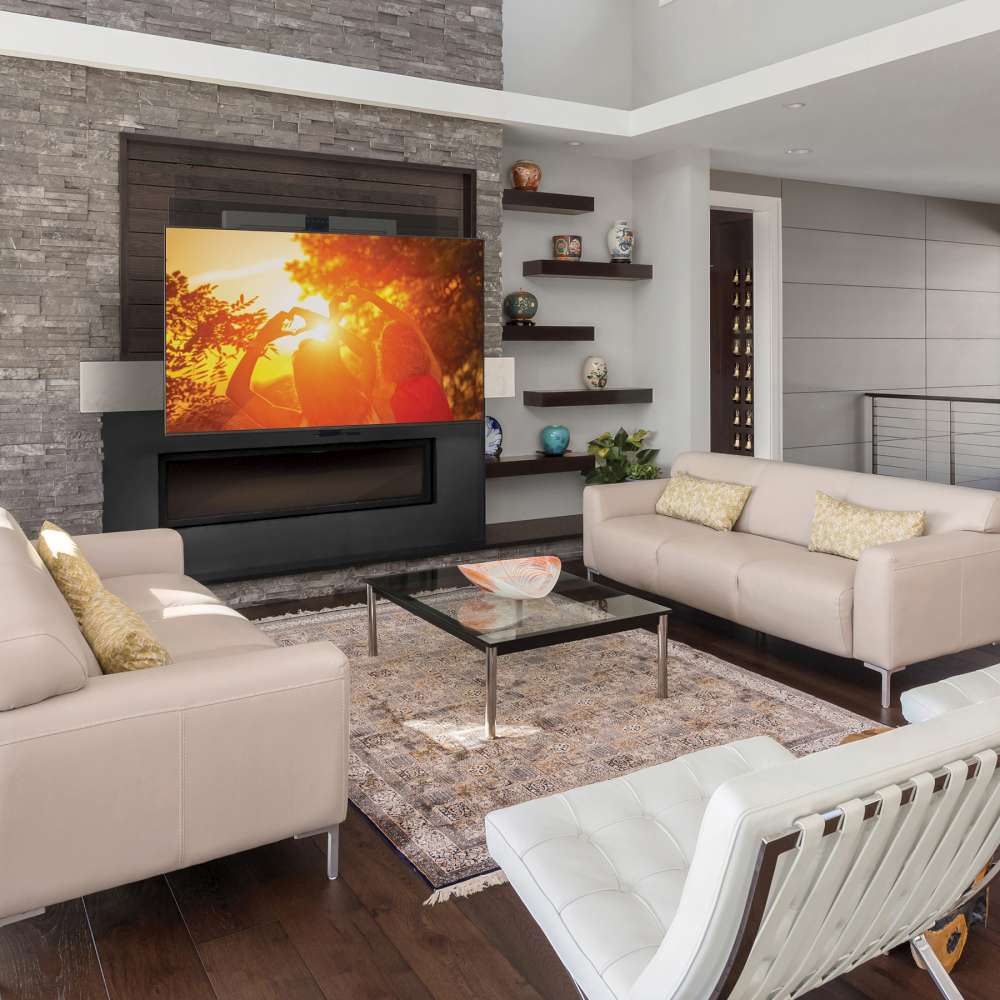 Mantelmount pull down tv mount over fireplace, Can I mount my television over the fireplace?