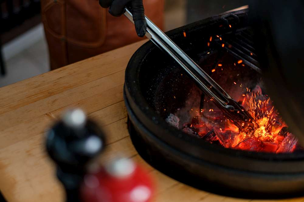 Kamado style BBQ. Cook on charcoal Low n Slow. How to cook ribs low n slow on the grill?