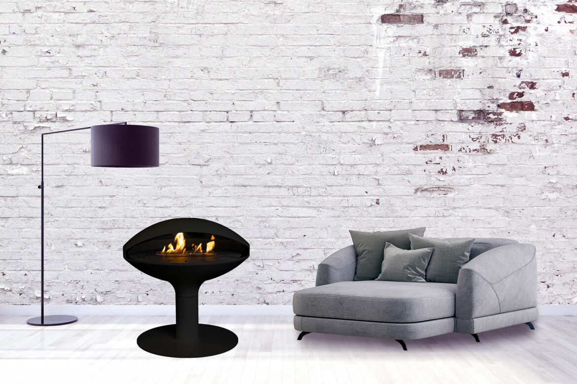 Milai Suspended Fireplace